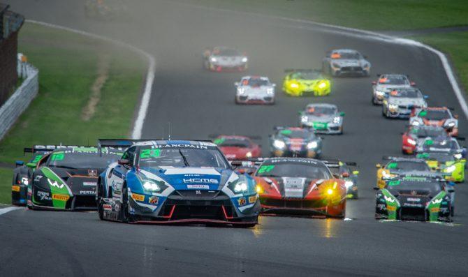 Nissan dominate Fuji race one