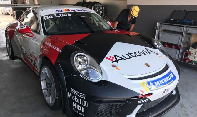 De Luca prova con AB Racing