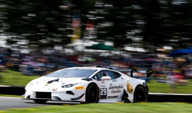 Lewis aims high in Road America