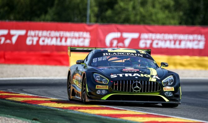 Strakka fields a third Mercedes in Suzuka