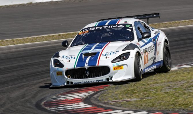 GT4 Central verso lo Slovakia Ring