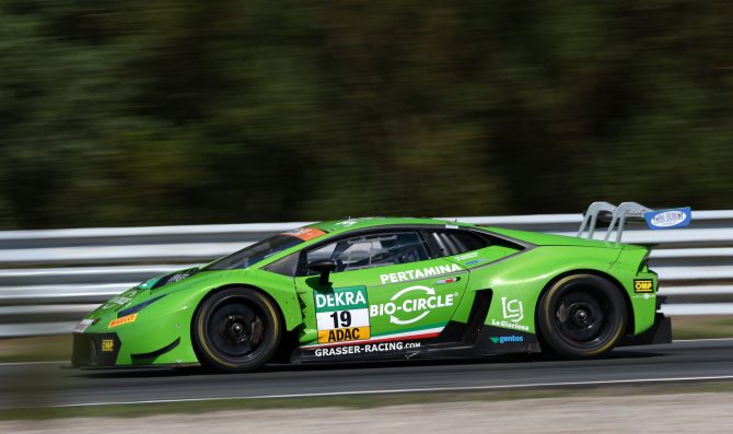 Zandvoort: prima fila Lamborghini