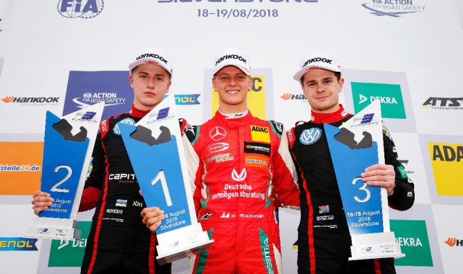 Schumacher scores second win
