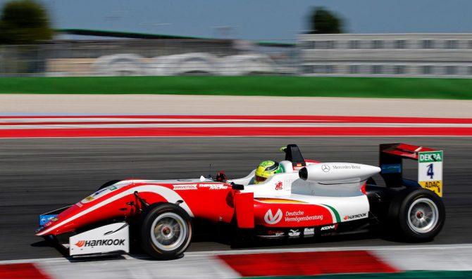 Schumacher claims second pole