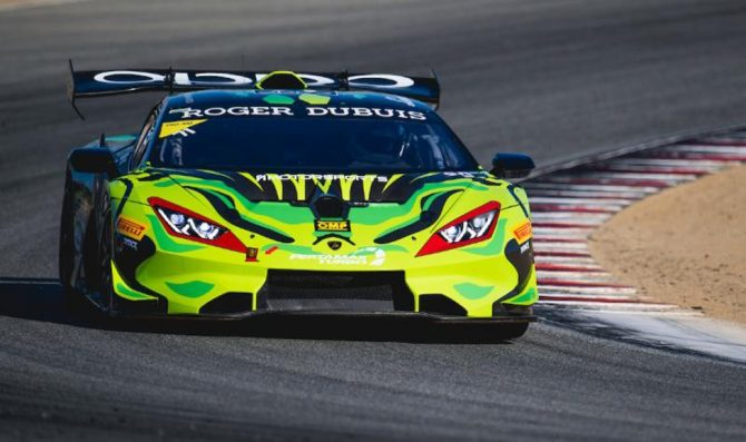 Spinelli, Michimi share poles at Laguna Seca