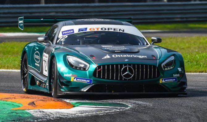 Jager fastest in Monza free practices