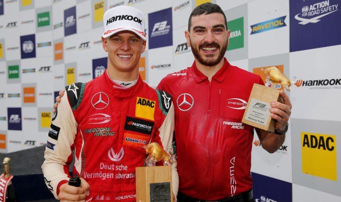 Schumacher takes FIA F3 lead