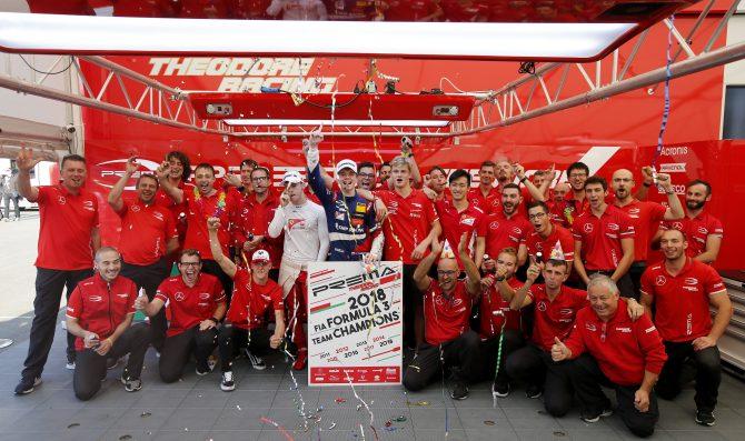 Prema celebrates team's title