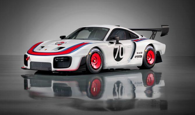 Porsche unveils new 935