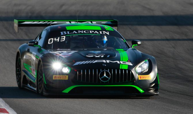 Strakka Mercedes fastest in Barcelona