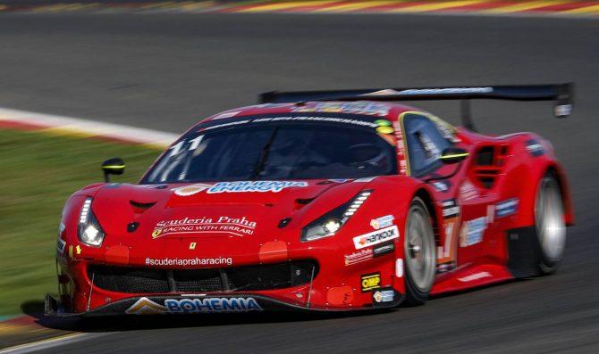 Scuderia Praha Ferrari wins 12H Spa