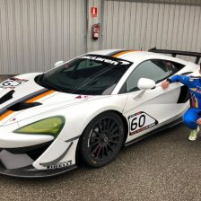 Pujeu joins Teo Martin for GT Open Cup