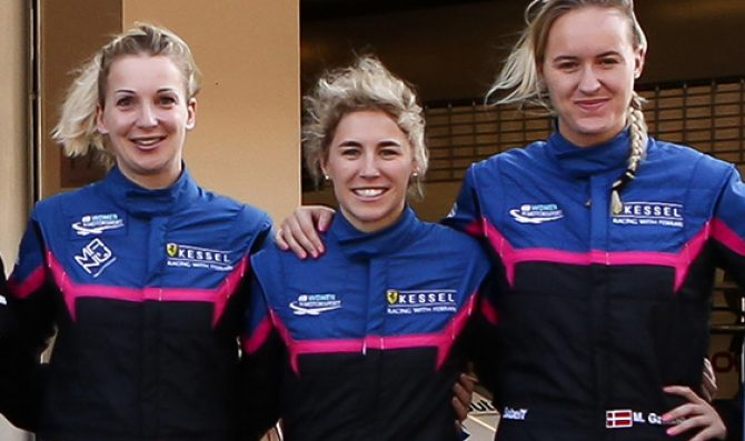All female line-up enters ELMS