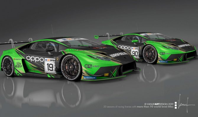 Due Lambo per Raton Racing by Target