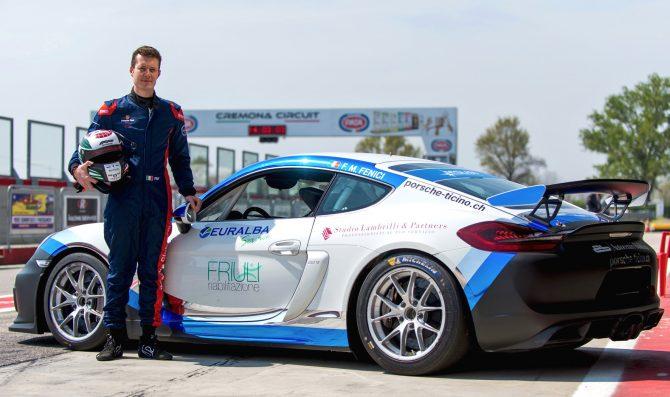 Fenici debutta nella Porsche Suisse