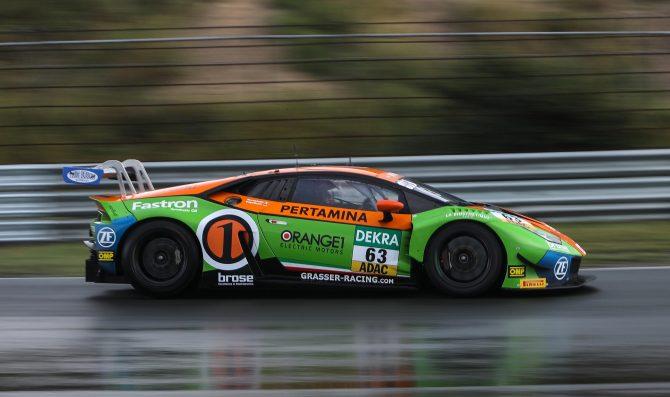 A Zandvoort prima vittoria Lamborghini