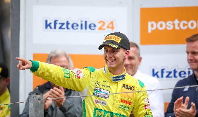 Primo podio di Fabian Vettel