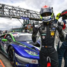 Lamborghinis dominate first qualifying