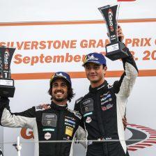 """Uno-due"" Emil Frey a Silverstone"