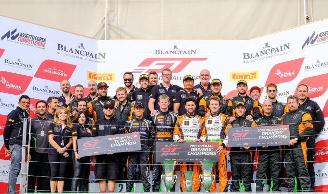 FFF Racing wins World Challenge title