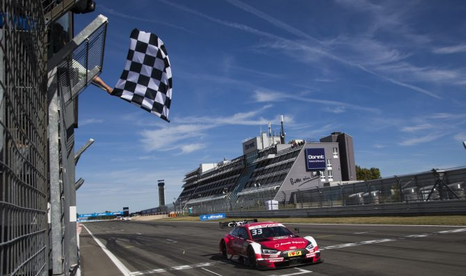 Al Nurburgring duello Audi