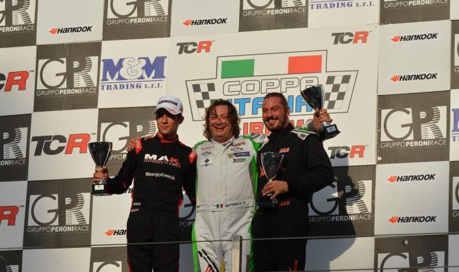 Aiello due volte sul podio di Vallelunga