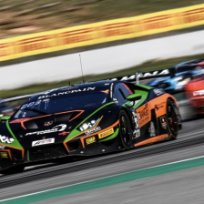 Lamborghini keep historic triple crown
