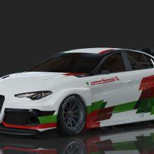 Ecco l'Alfa Romeo Giulia ETCR
