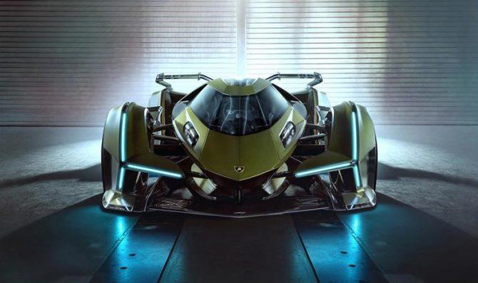 Presentata la nuova Lambo V12 Vision