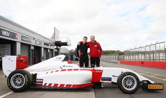 Horsten graduates to British F3