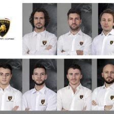Altoè e Costa factory driver Lamborghini