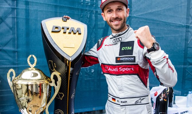 Interview with DTM Champion Rene' Rast