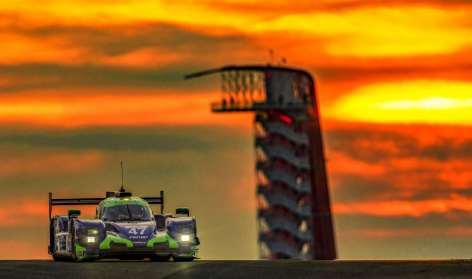 Cetilar Racing regolare a Austin