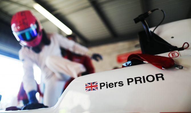 Prior dal kart alla F3 inglese
