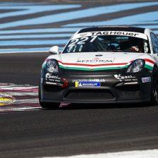 La Cram con la Porsche in GT4
