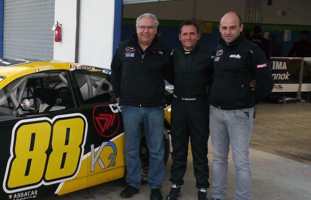 Morbidelli makes EuroNASCAR debut