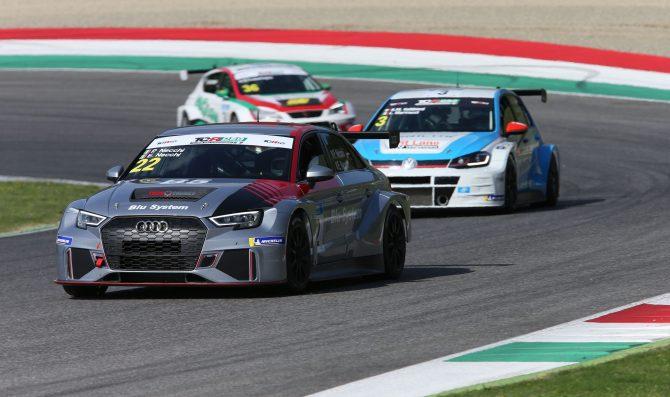 Piero Necchi a Monza nel TCR Italy