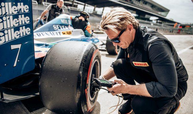 Una nuova slick Pirelli per la BOSS GP