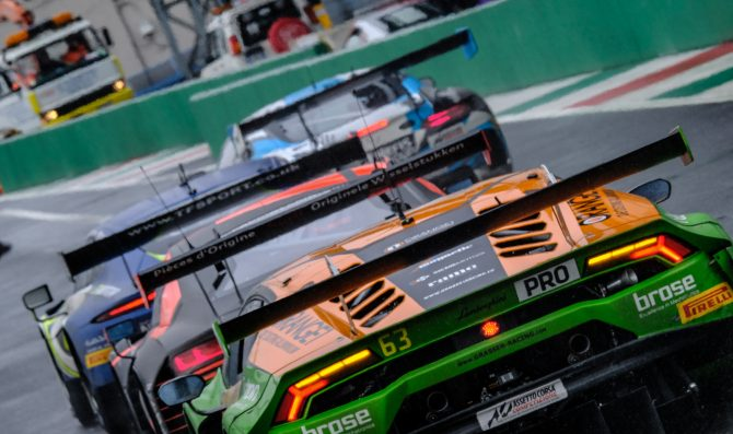 SRO cancels the GT World at Monza