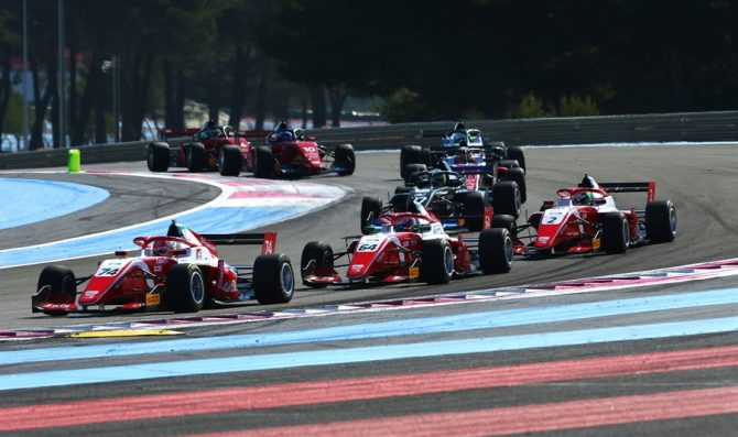 La gara del Paul Ricard ad agosto