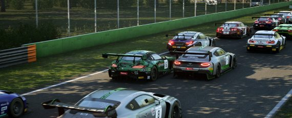 Virtual GT racing set for Monza