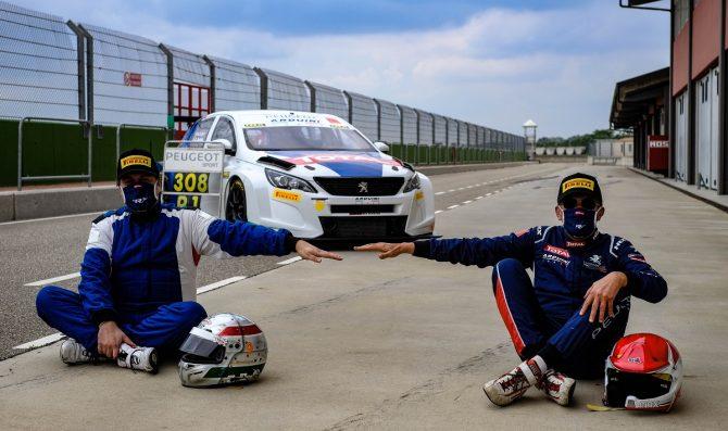 Torna in pista la Peugeot 308 TCR di Arduini e Bodega