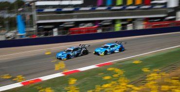 Palumbo sul podio con Press Racing