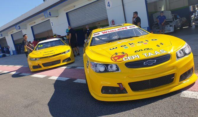 CAAL Racing in pista con Lanza e Casoli