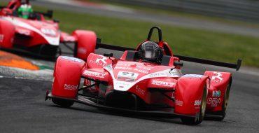 Davide Nardilli con la Honda di MM Motorsport a Imola