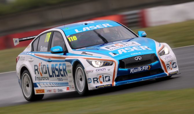 BTCC blasts back on track