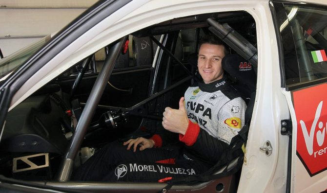 Franco Girolami al via del TCR Italy con la Honda di MM Motorsport