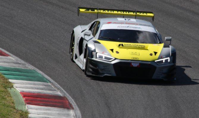 Audi domina le qualifiche al Mugello