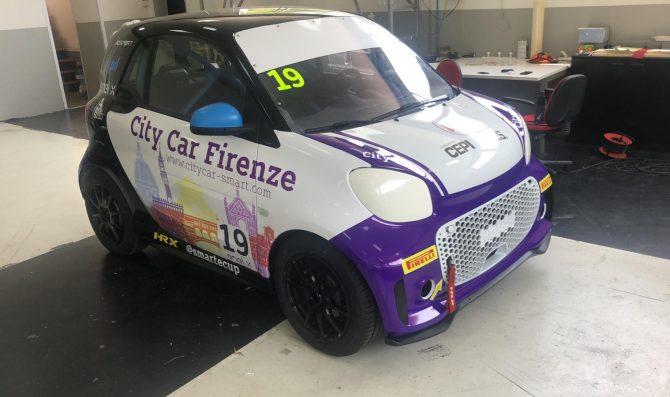 City Car Firenze sceglie Christian Pigionanti per il debutto in smart e-cup