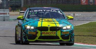 Imola GT4: doppia pole BMW